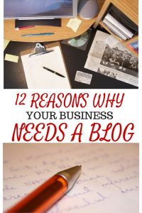 2 REASONS WHY YOUR BUSINESS NEEDS A BLOG - Have you ever wondered why your business website isn't getting any traffic? Want to know how to best communicate with your clients? Check it out... Here's 12 REASONS WHY You should consider adding a blog to your business website.