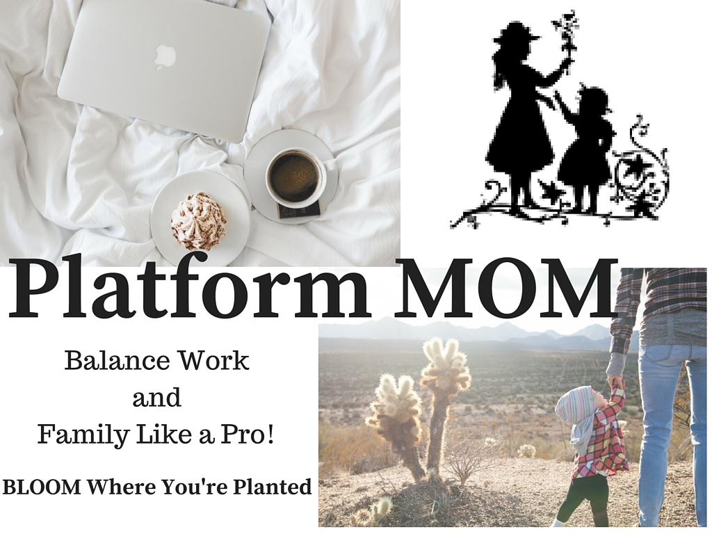 Platform MOM - Balancing Work and Family Like a Pro - tired of all the guilt? Join a community that gets it!