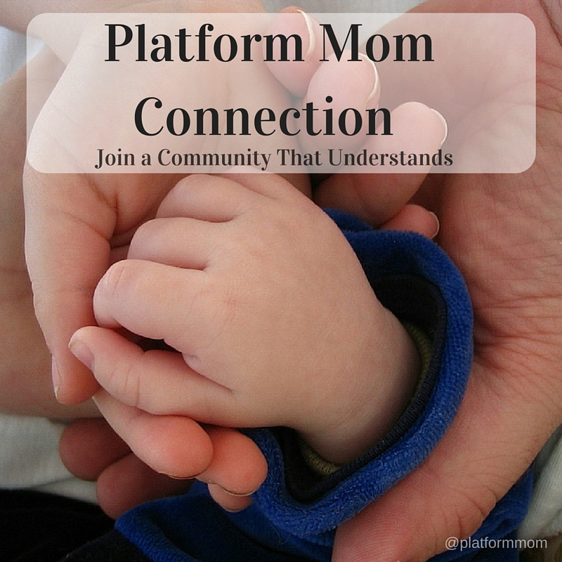 Dear Tired Mom - Tired of Doing it all; Balancing work, life, and family can be tough - JOIN A COMMUNITY that Understands - Platform Mom Connection